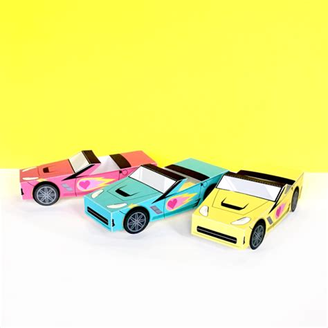 Sports Cars Papercraft