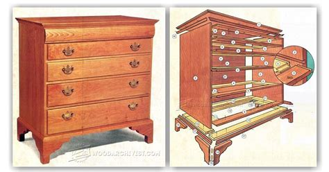 Woodworking Plans Drawers