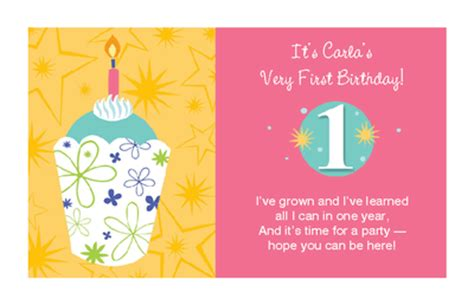 1st birthday party ideas birthday quotes baby girl 39 s 1st birthday invitation 1st birthday