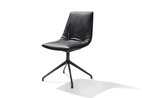 Team 7 Lui by Lui Chair With Swivel Base By Team 7 Stylepark