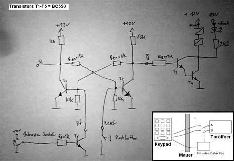 garagentor codeschloss einbruchsicherung mikrocontrollernet