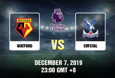 Watford vs. Crystal - Betting Tips and Match Preview - 120719
