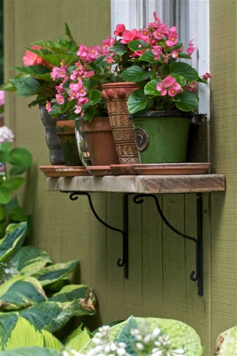 Window Ledge Plant Pots by Remodelaholic 25 Inspiring Outdoor Window Treatments
