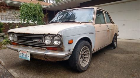 510 Datsun Parts by Boxes Of Parts Included 1971 Datsun 510 2 Door