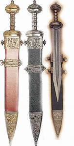 Roman Swords and Ancient Weapons: Spatha, gladius, rudis ...