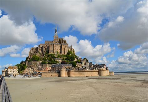 le mont michel magical and picturesque island at s normandy coast woody world