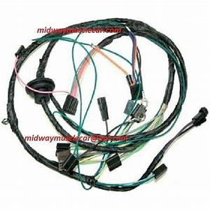 Air Conditioning A  C Wiring Harness 71 Chevelle El Camino