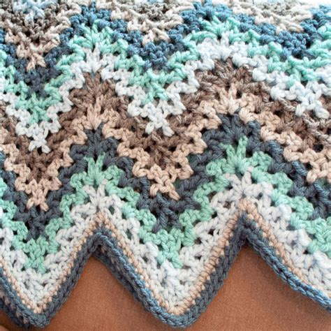 crochet afghan patterns free pattern crochet ripple afghan squareone for