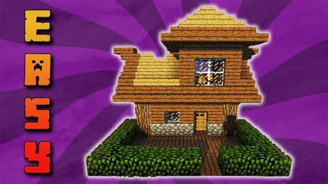 Tutorial Zweistöckiges Minecraft Haus Bauen Kleines