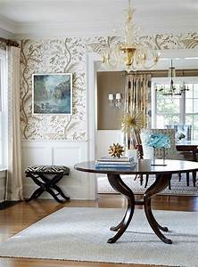 25, Gorgeous, Entryways, Clad, In, Wallpaper