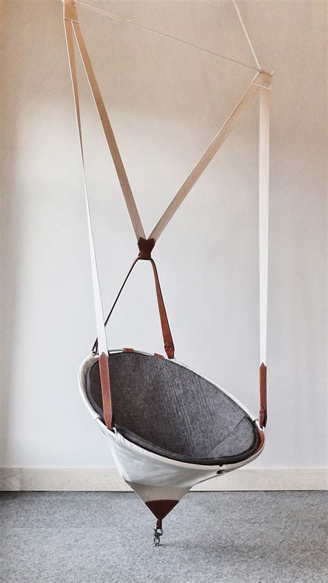 Chaise Balancoire Suspendue by Chaise Suspendue Hanging Chair On Behance