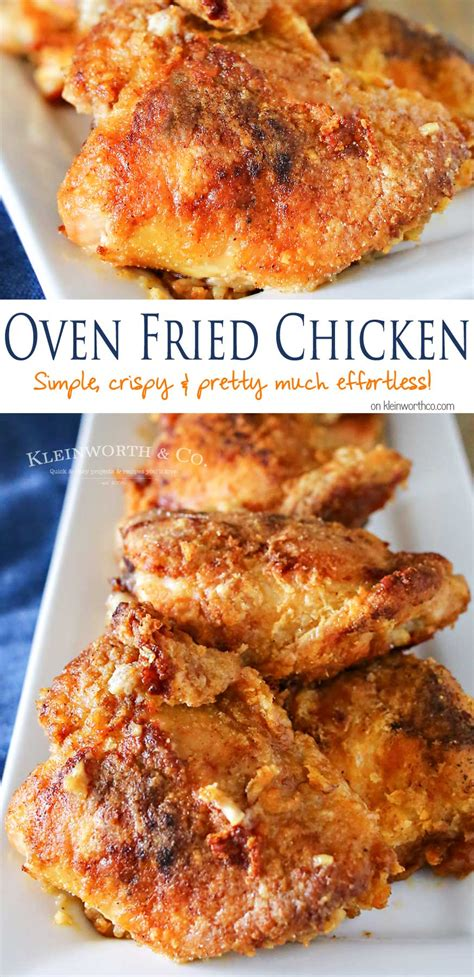 oven fried chicken oven fried chicken recipe dishmaps