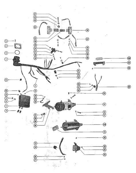 Mercury Solenoid Wiring by Mercury Marine Model 800 80 Hp 6 Cylinder Starter Motor