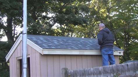 how to shingle a shed roof shingling the shed roof
