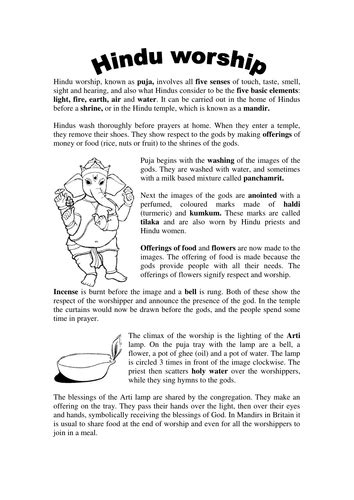hinduism worksheets for middle school hinduism comprehension by groov e chik teaching resources