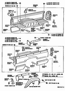 Rear Body Side Panel For 1979  4runner Truck Rn46