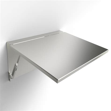 Fold Down Wall Mounted Shelf
