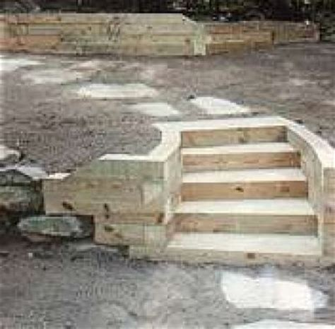 how to build a wood retaining wall how to build retaining walls and stairs on pinterest