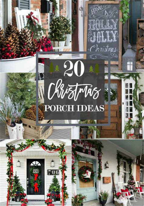 decorating porch column for xmas 20 beautiful porch ideas
