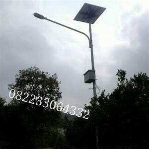 Jual Paket Lampu Pju  Penerangan Jalan Umum  Solar Cell