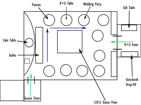 wedding reception layout banquet rooms banquet room table layout