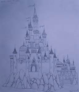 Disney Castle Sketch