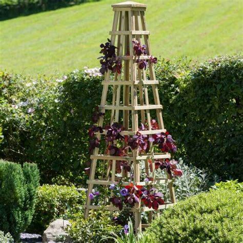 Wooden Obelisk 2m Garden Decoration Patio Planter Outdoor