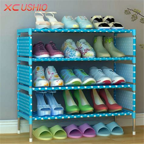 Jual Rak Sepatu Susun Surabaya jual rak sepatu portable 4 susun di lapak digital acc