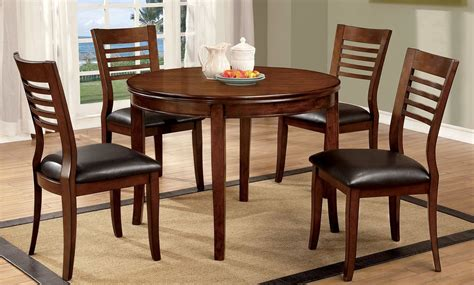 Dwight I Medium Oak Round Dining Room Set From Furniture