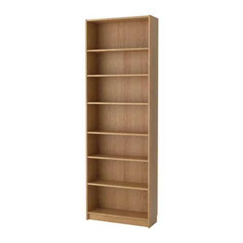 billy bookcase billy bookcase oak veneer 80x237x28 cm ikea
