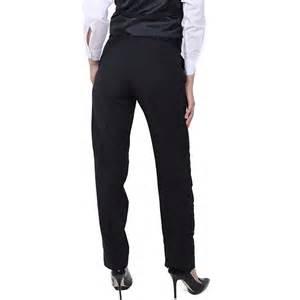 Black Tuxedo Pants Women