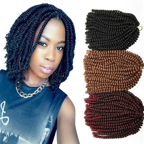 Crochet Braids Synthetic Braiding Hair Extensions Short