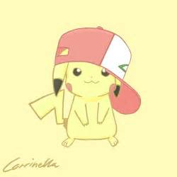 Pikachu with Ash Hat