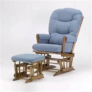 ocean blue rocking chair cushions with ottoman white