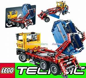 Lego Technic Camion : lego technic 42024 42025 cargo flugzeug container ~ Nature-et-papiers.com Idées de Décoration