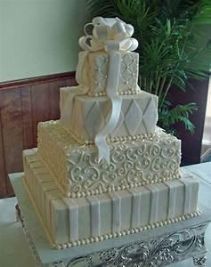 Elegant Square Wedding Cakes | Wedding-Cakes