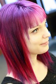 Pink and Purple Hair Color