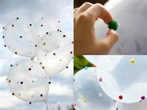 Deko Basteln Ideen : fasching deko basteln 7 sch ne diy ideen mit luftballons ~ Markanthonyermac.com Haus und Dekorationen