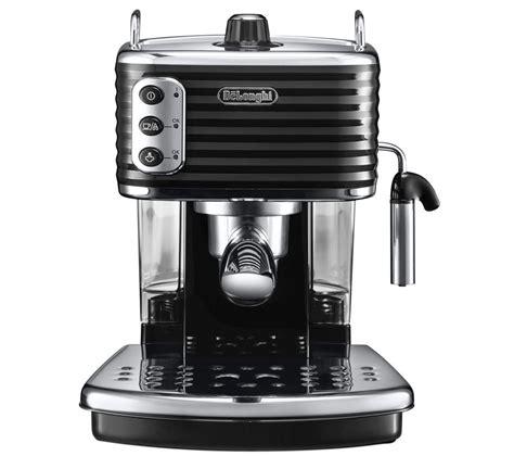 espresso maschine delonghi buy delonghi scultura ecz351bk coffee machine black free delivery currys