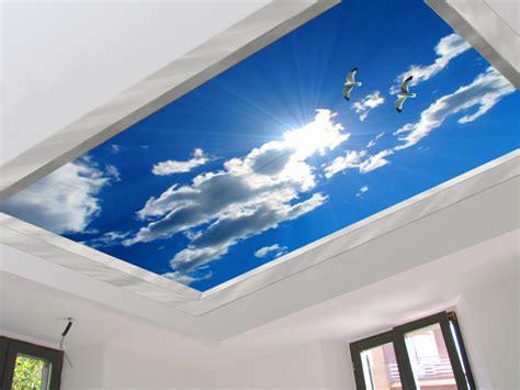 trompe l oeil plafond stickers d 233 co mural d 233 cors muraux trompe l oeil