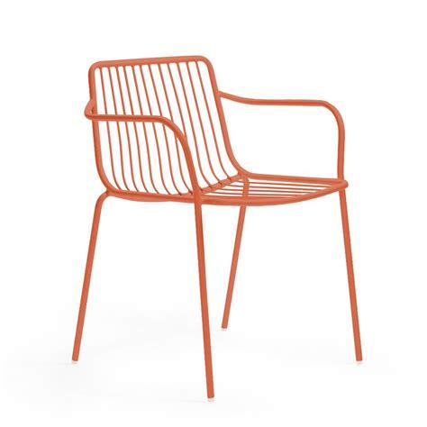 chaises exterieur nolita p chaise dotée d 39 accoudoirs pedrali en métal