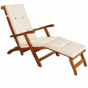 Coussin Chaise Longue : coussin pour chaise longue 173 cm matelas cr me achat vente chaise longue coussin chaise ~ Teatrodelosmanantiales.com Idées de Décoration