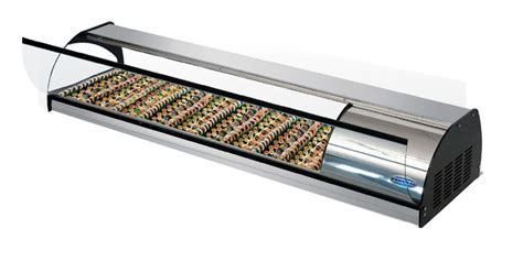 """Federal CTS 43 43"""" Counter Top Refrigerated Sushi Display"""