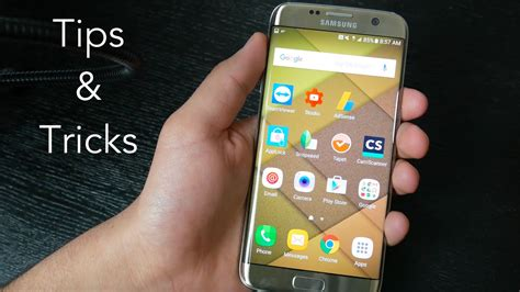 samsung galaxy s7 and s7 edge tips and tricks