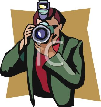 13237 photographer taking a picture clipart royalty free reporter clip clipart