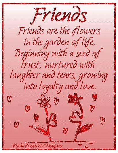 Flowers Friends Quotes Garden Friendship Friend Special
