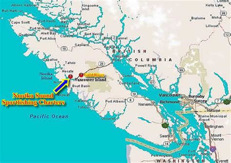 Nootka Sound Sports Fishing Charters and Accommodations