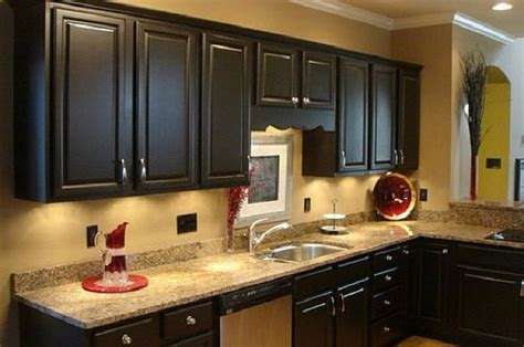 Dark Painting Kitchen Cabinets Vintage Styles, Painted
