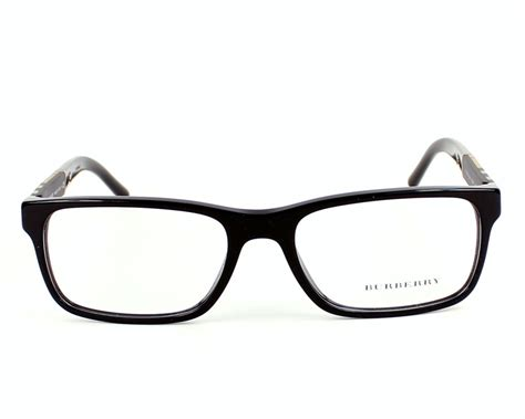 Burberry Eyeglasses Be2162 3001 Black Visionet