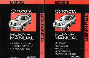 200toyota 4runner 4 Runner Service Shop Repair Set Factory Dealership 2 Volume Set Wiring Diagrams Automatic Transmission And The Installat